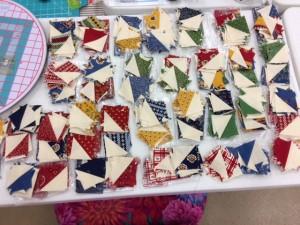 Jan's half sq triangles